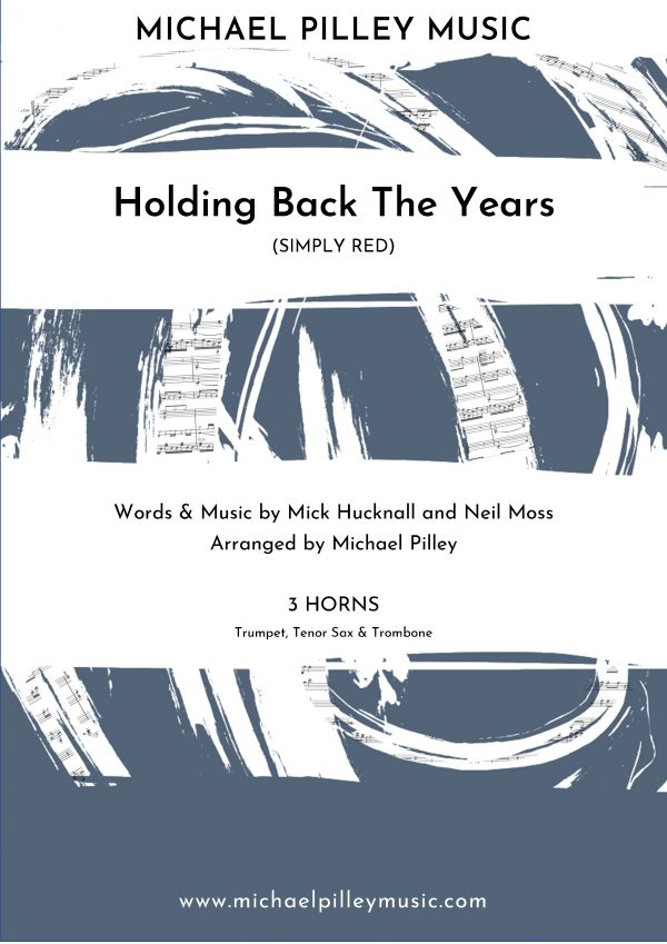 Holding back the years Cover